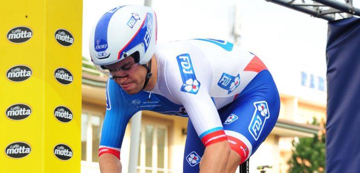 Le Bon wint proloog Boucles de la Mayenne, Van der Poel derde