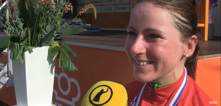Annemiek van Vleuten wint bij rentree in Lotto Belgium Tour