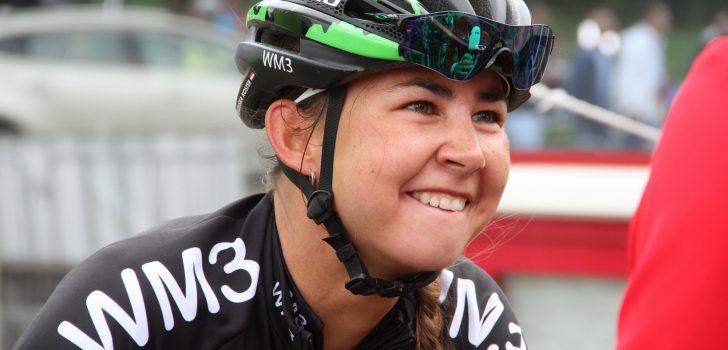 Anouska Koster slaat dubbelslag op slotdag Ronde van België