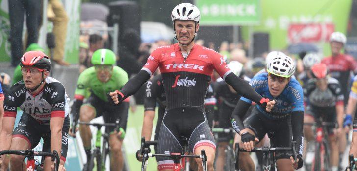 Edward Theuns sprint naar zege in BinckBank Tour