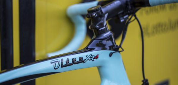 """De Bianchi Oltre XR4 van Lars Boom: """"Aerodynamisch, stijf en comfortabel"""""""
