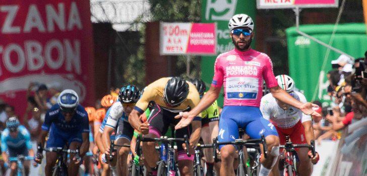Gaviria opnieuw de snelste in Colombia Oro y Paz