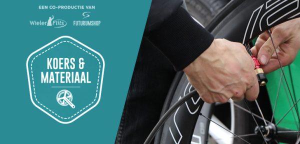 Koers & Materiaal #01: Met welke bandenspanning rijden de profs?
