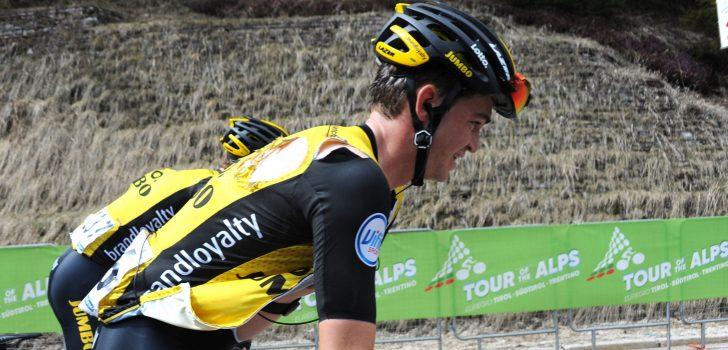 """Sepp Kuss (LottoNL-Jumbo) verstevigt leiding in Utah: """"Zeer trots op deze geweldige ploeg"""""""