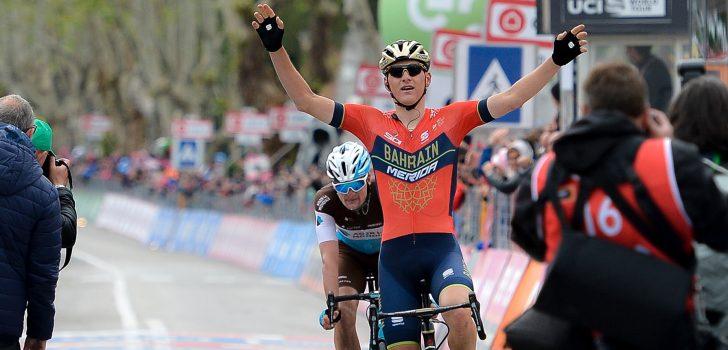 Mohoric de sterkste in openingsrit Ronde van Oostenrijk, Duijn derde