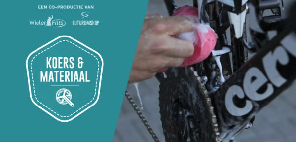 Koers & Materiaal #06: Tips voor het schoonmaken van je racefiets
