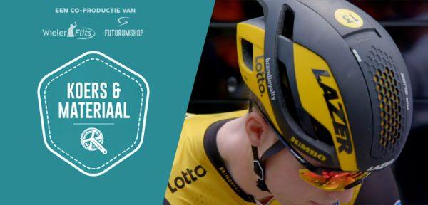 Koers & Materiaal #07: De Lazer helmen van LottoNL-Jumbo