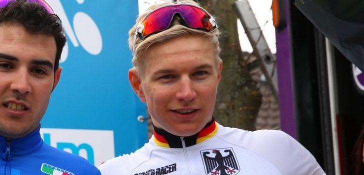 Openingsrit Tour de l'Avenir prooi voor Max Kanter