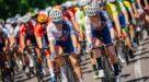 Matthew Gibson sprint naar zege in Tour de l'Avenir, leider Aalrust valt
