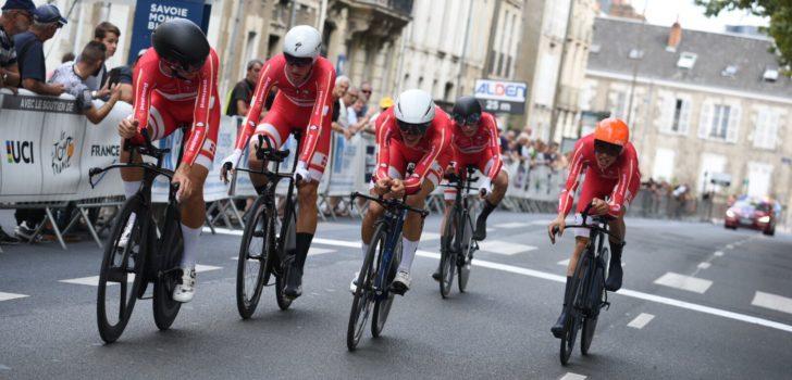 Denen winnen ploegentijdrit Tour de l'Avenir, Nederland vierde