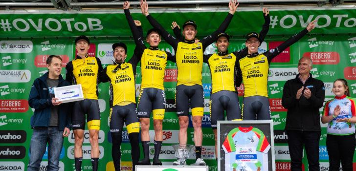 "Roglic na dertigste seizoenszege LottoNL-Jumbo: ""We zijn heel blij"""