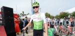 Bernhard Eisel (38) hangt fiets aan de haak