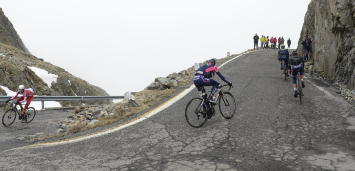 Giro Rosa in 2019 met aankomst op Passo Gavia