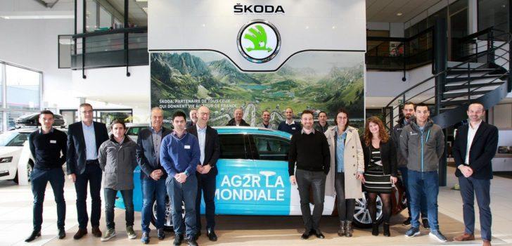 AG2R La Mondiale ruilt Ford in voor Skoda
