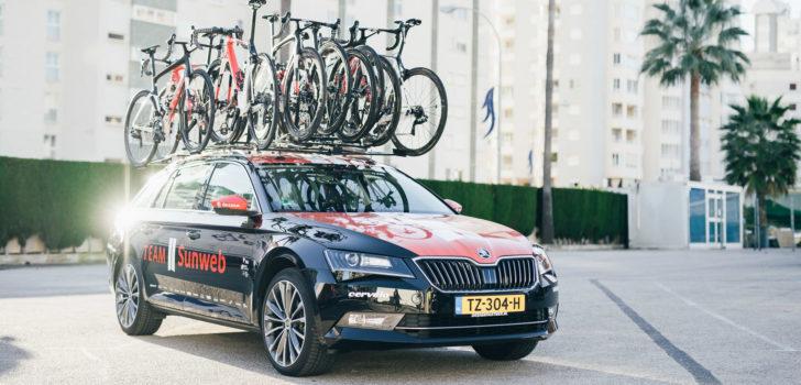 Škoda nieuwe autosponsor Team Sunweb