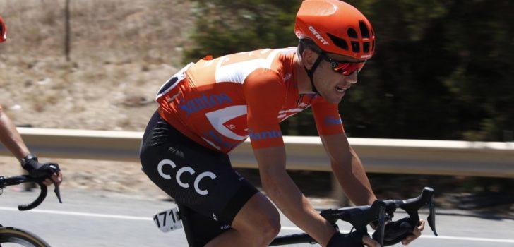 Vuelta 2019: Patrick Bevin geeft op met WK in het achterhoofd