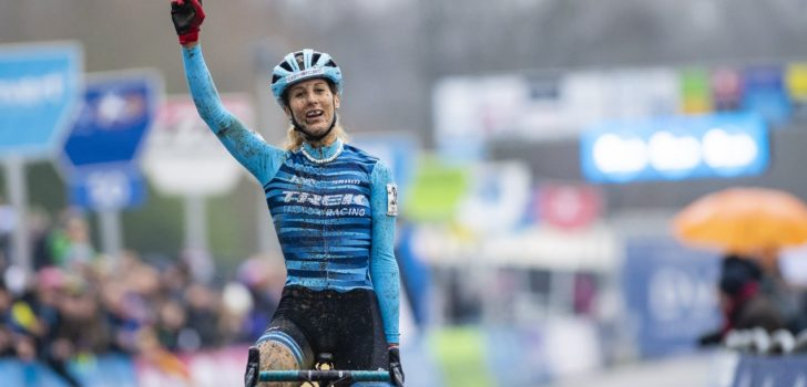 Jolanda Neff klopt Sanne Cant in GP Sven Nys
