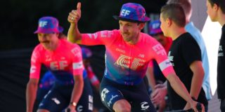 Michael Woods blijft langer bij EF Education First