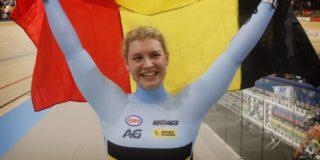 Nicky Degrendele verovert na moeizame periode brons op Keirin