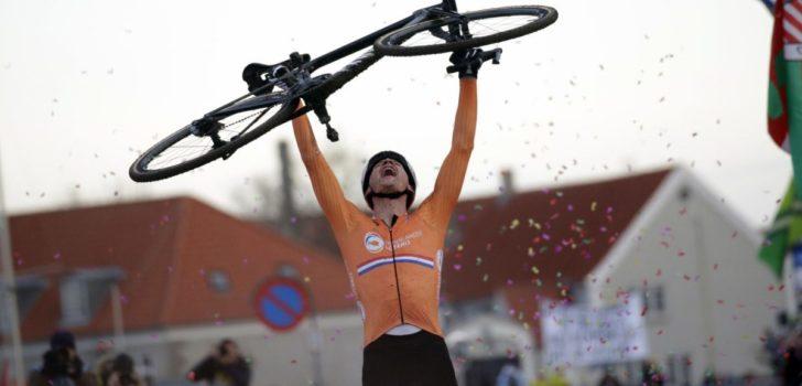 Mathieu van der Poel wereldkampioen veldrijden na demonstratie in Bogense