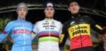 """Mathieu van der Poel: """"Gestart op gewone banden om krachten te sparen"""""""