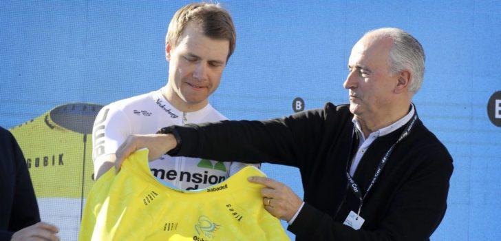 Edvald Boasson Hagen eerste leider in Ronde van Valencia
