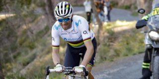 Alejandro Valverde mist Strade Bianche door ziekte