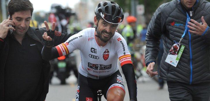 Francisco Mancebo (42) begint zijn seizoen met een zege