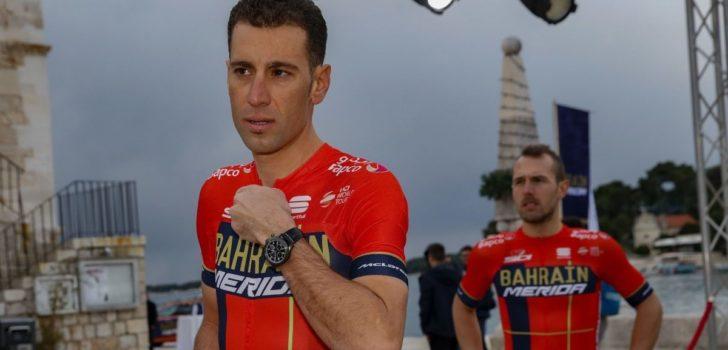 'Contractonderhandelingen Bahrain Merida en Vincenzo Nibali bereiken impasse'