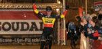 Toon Aerts en Helen Wyman juichen in Cyclocross Masters