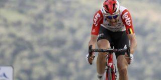 """Wellens na teleurstellende Tirreno: """"Nu vier weken geen competitie"""""""