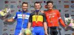 Belgisch Kampioenschap wielrennen 2024 finisht in Zottegem