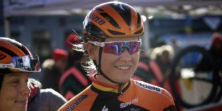 Jolien D'Hoore breekt elleboog bij val in BeNe Ladies Tour