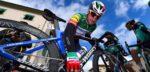 """Elia Viviani: """"Chaotische sprint, waarin iedereen voor hun posities vocht"""""""