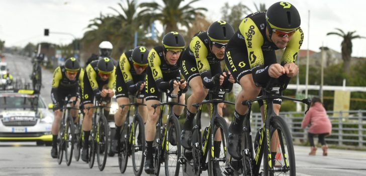 Mitchelton-Scott wint ploegentijdrit in Czech Cycling Tour