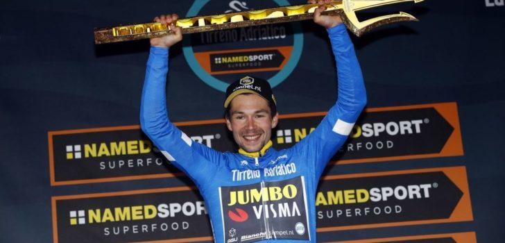 Tirreno-Adriatico pakt uit met bergrit en schrapt ploegentijdrit