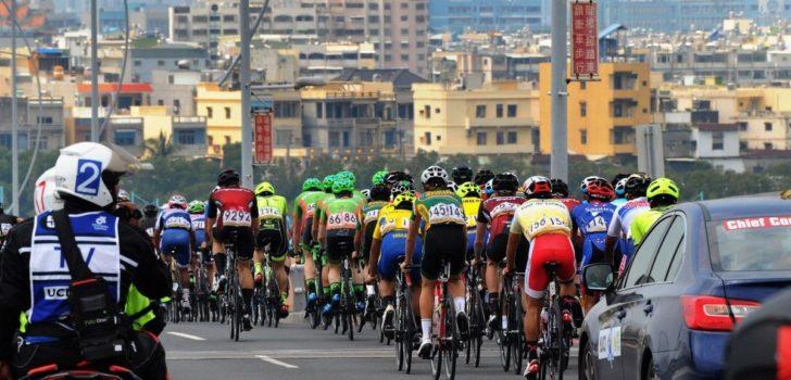 Atsushi Oka opent Tour of Japan met zege, Raymond Kreder vierde