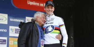"""Poulidor lyrisch over kleinzoon: """"Mathieu is een echte winnaar"""""""