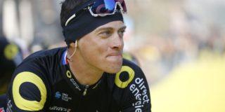 Terpstra terug op de fiets na val in Ronde van Vlaanderen