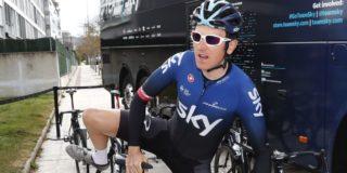 In dit tenue rijdt Team Ineos tijdelijk in de Ronde van Romandië