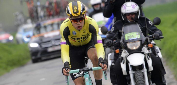 Wout van Aert staat achter tactiek Jumbo-Visma in Parijs-Roubaix