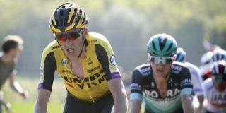 """Robert Gesink eerste renner Jumbo-Visma: """"Als je zo sterk kunt finishen, chapeau!"""""""