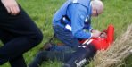 Roche ontsnapt aan ernstige blessure na val in Baskenland