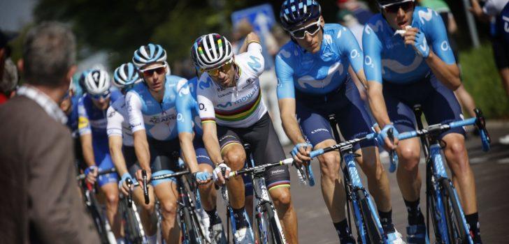 """Valverde gaat naar de Tour: """"Om het team te helpen"""""""