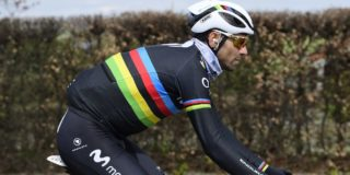 Valverde start in Dwars door Vlaanderen 2020