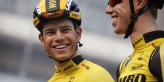 Wout van Aert als kopman Jumbo-Visma in Amstel Gold Race