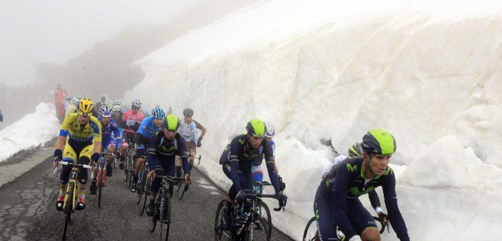 Giro 2019: Mogelijk twee keer Mortirolo bij te veel sneeuw op Gavia