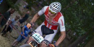 Mathieu van der Poel vecht zich naar tweede plek in World Cup Albstadt