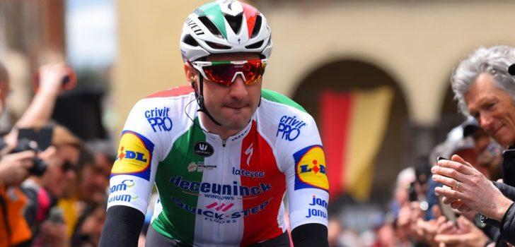 """Runner-up Viviani: """"Démare reed een indrukwekkende sprint"""""""
