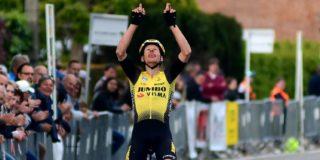 Taco van der Hoorn wint kermiskoers van ploeggenoot Maarten Wynants